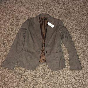 New York & Company Brown Suit Blazer - Size 6 NWT
